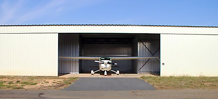 Fulfab Sliding Doors Have Been Designed For Full Integration With Our Post  And Beam Hangar Systems. These 2 Leaf, Manually Operated Doors Provide A  Lower ...